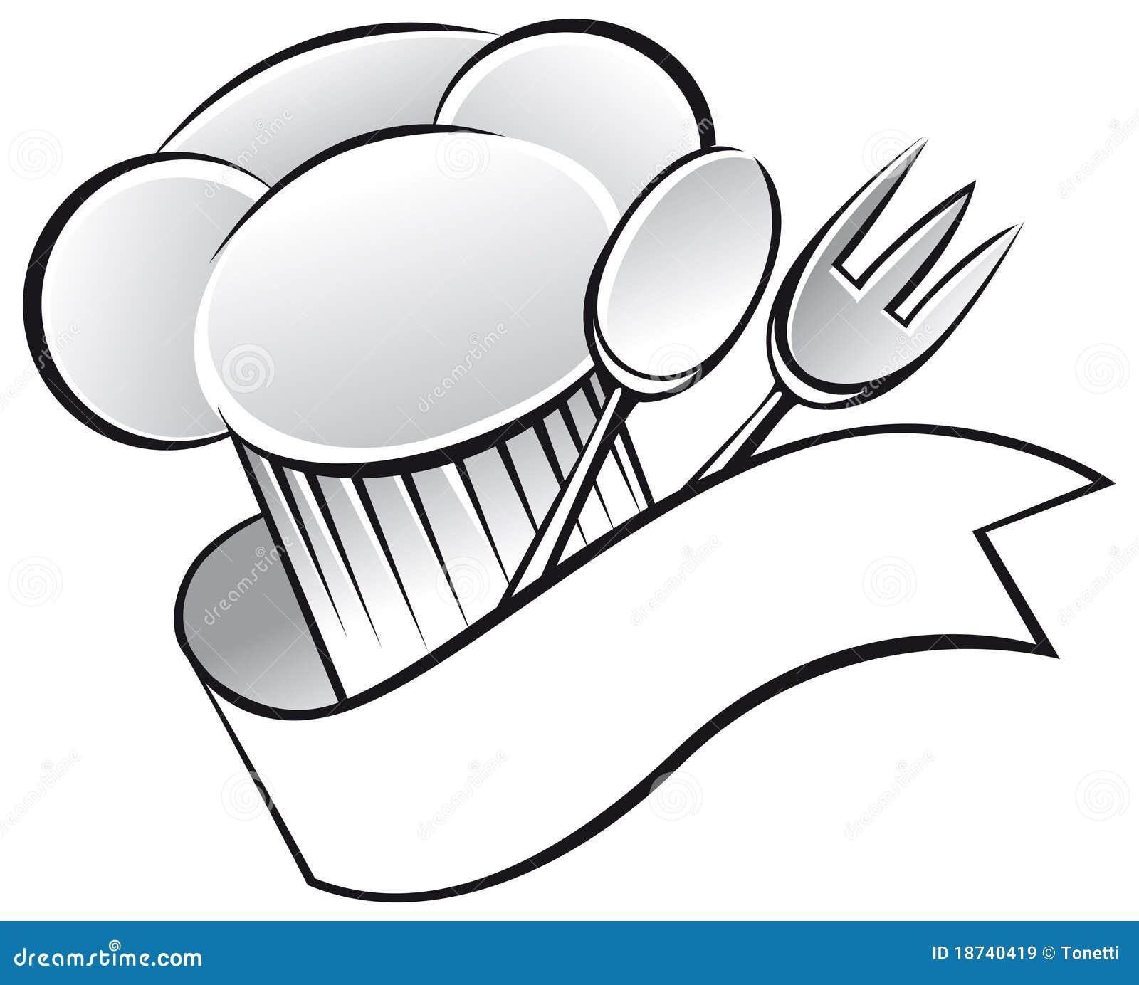 Cappello del cuoco unico illustrazione di stock. Illustrazione di ... cdba8e0ef76f