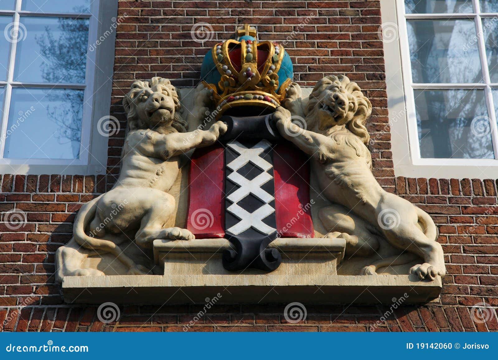 Cappotto delle braccia di Amsterdam