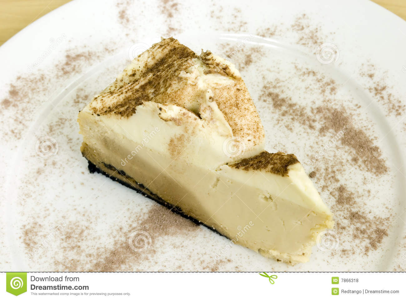 Cappuccino Cheesecake Royalty Free Stock Photos - Image: 7866318