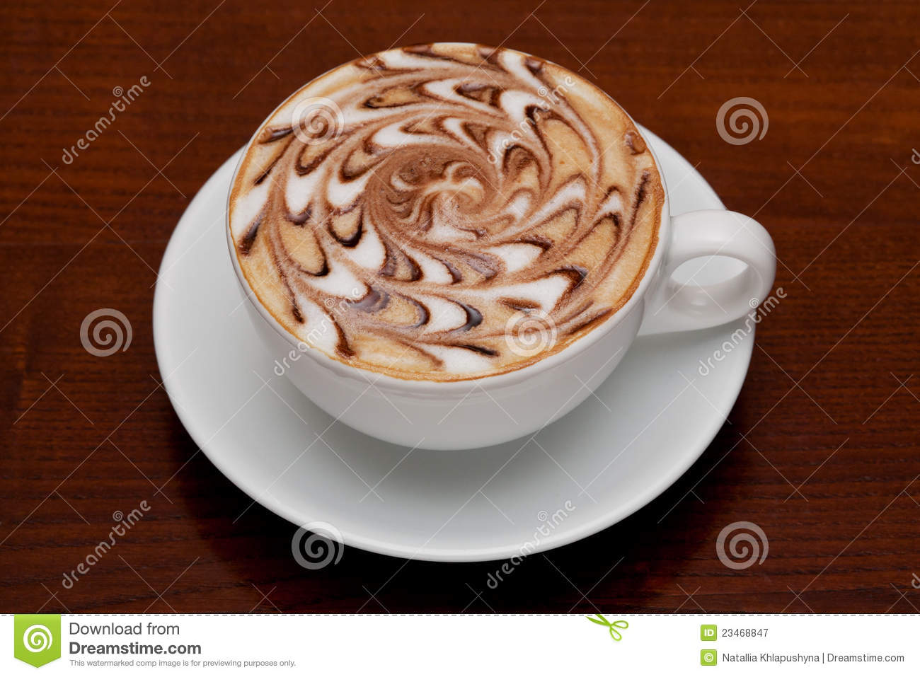 Cappuccino, Coffee Cup Royalty Free Stock Photography - Image ...