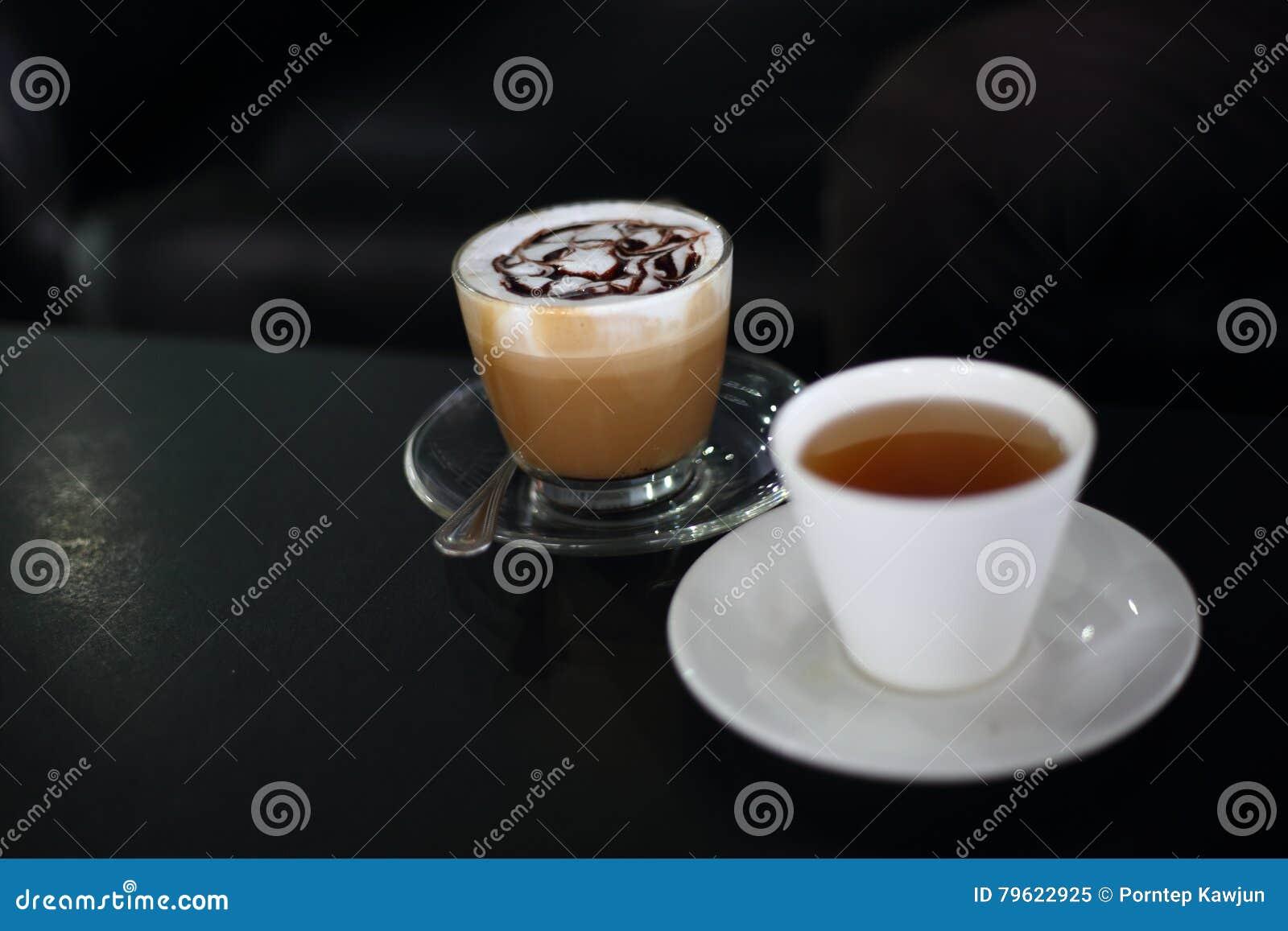 Cappuccino e chá