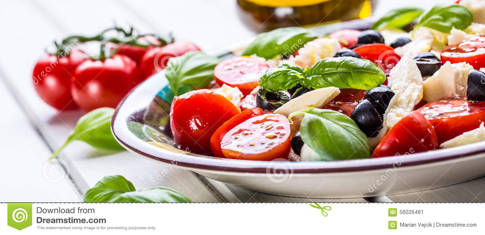 caprese caprese salat italienischer salat griechischer salat