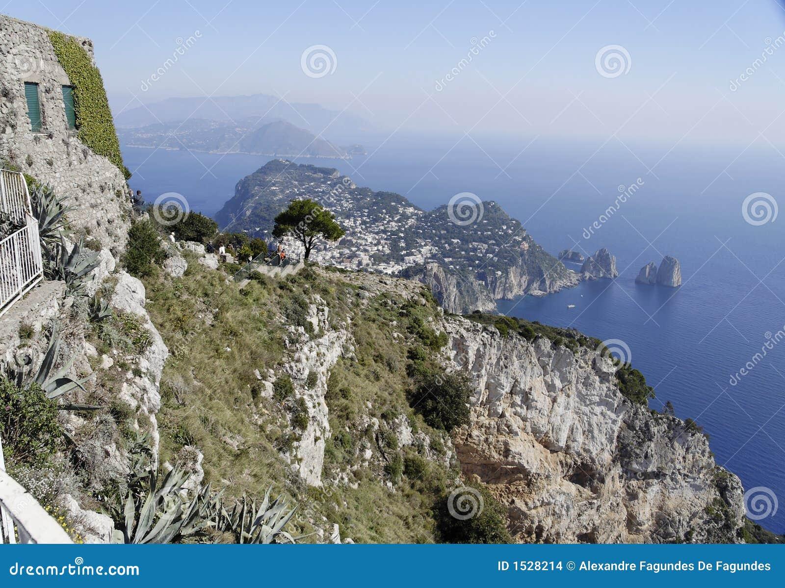 Capri e il Faraglioni