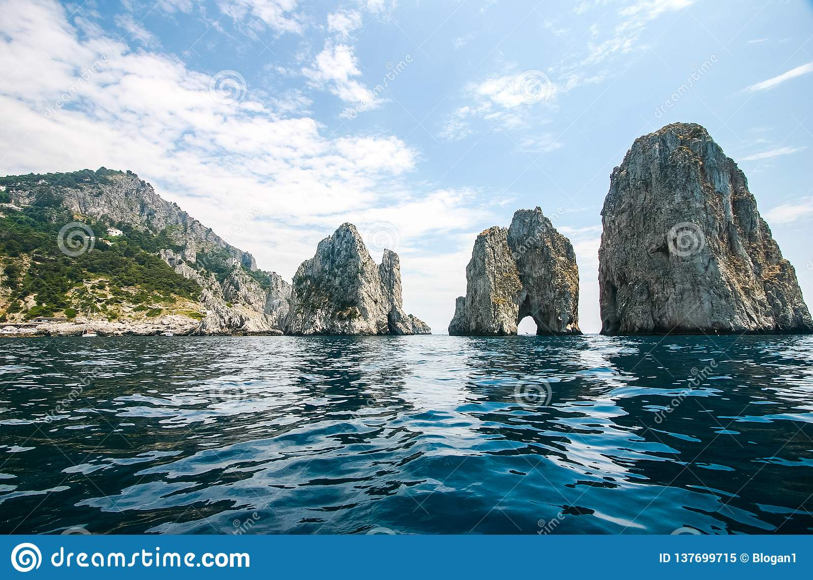 Capri, Itália - Faraglioni