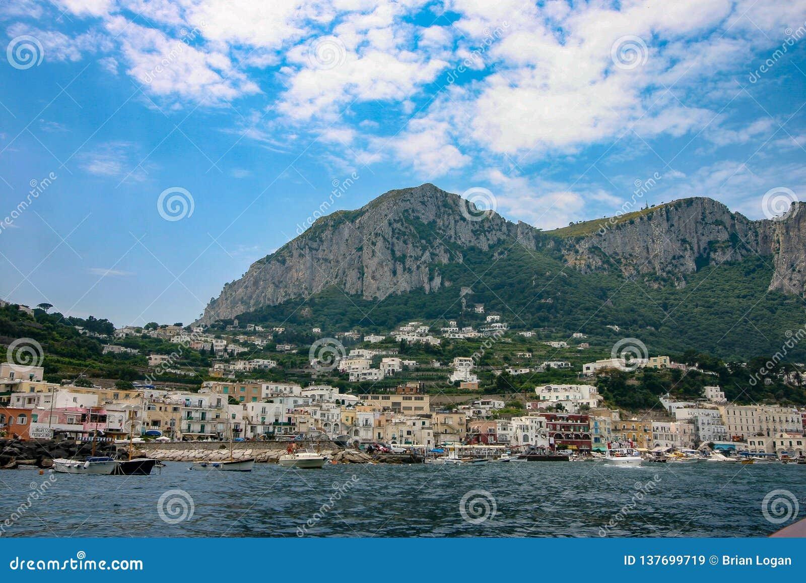 Capri, Italië, Marina Grande