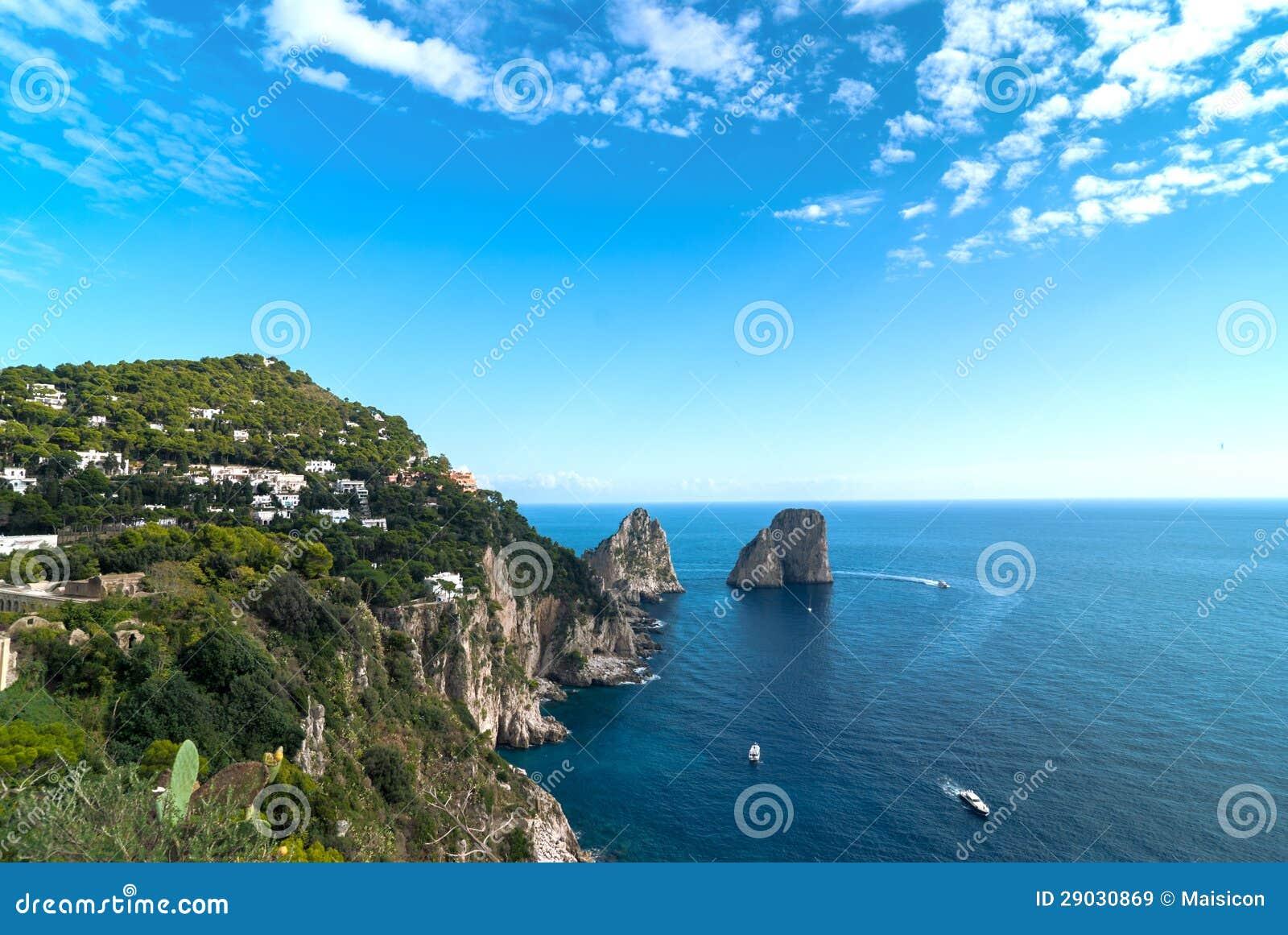 Capri, Italie.
