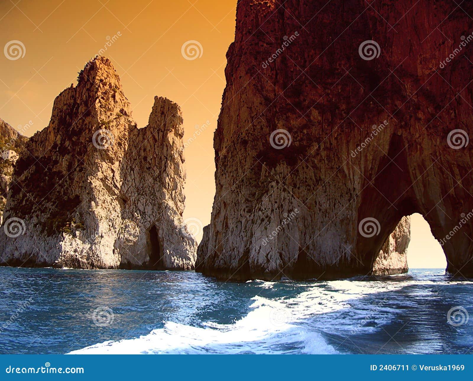 Capri Italien