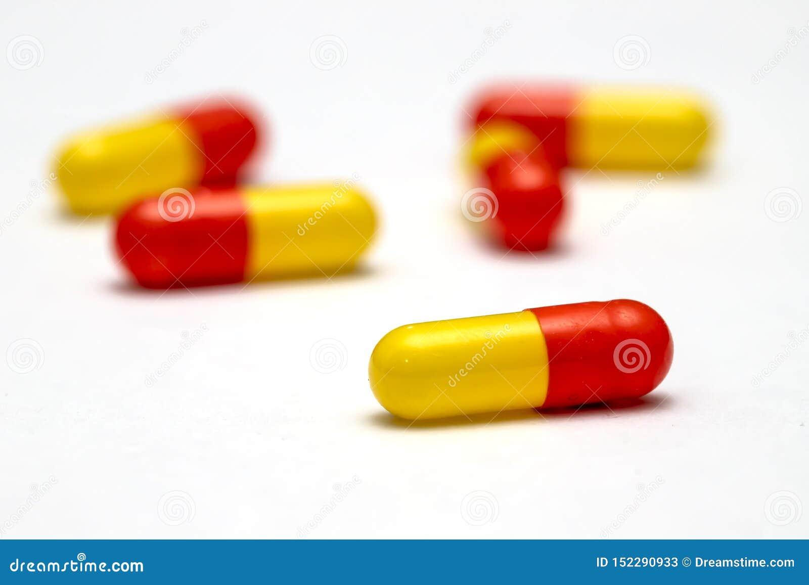 Capsules en pillen voor gezondheid