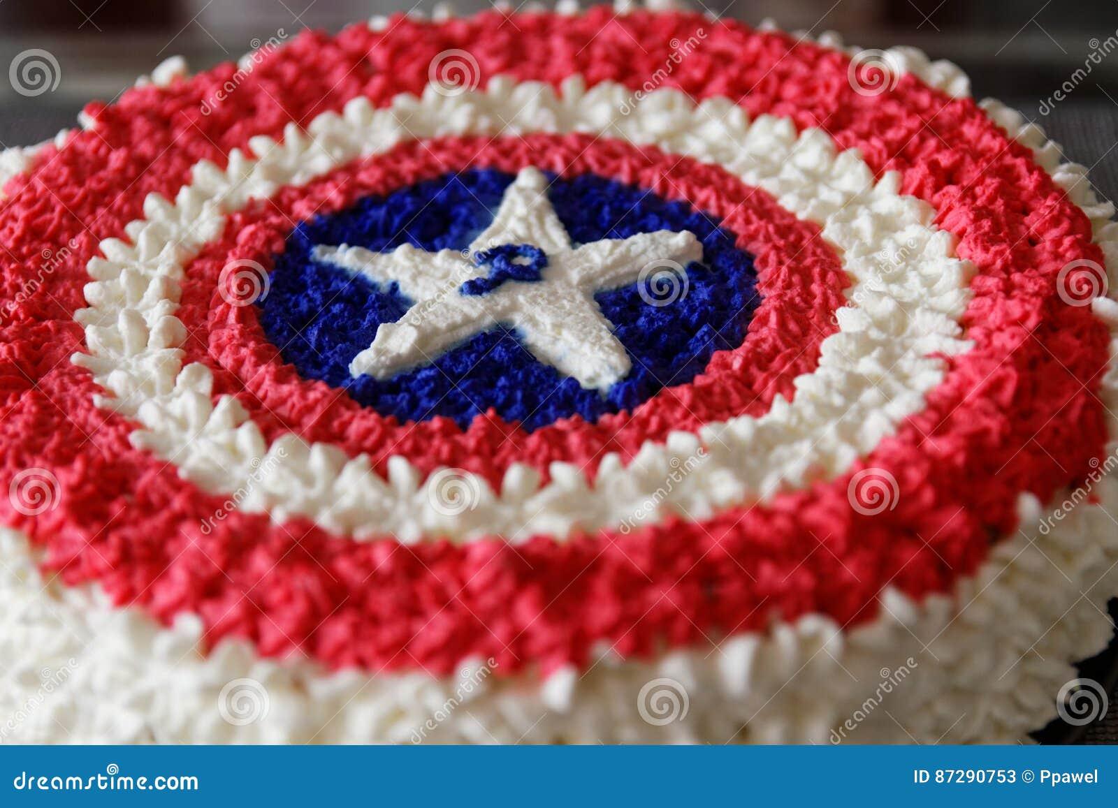 Captain America Editorial Stock Photo Image Of Blue 87290753