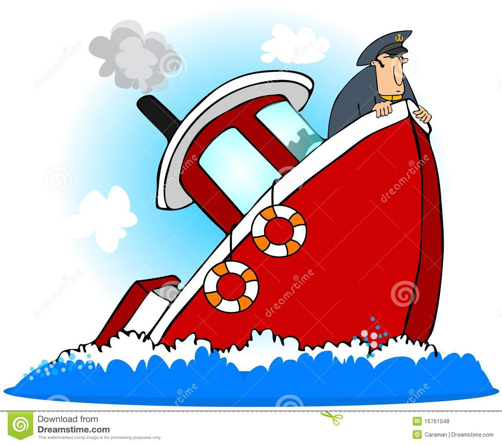 Captain Of A Sinking Ship