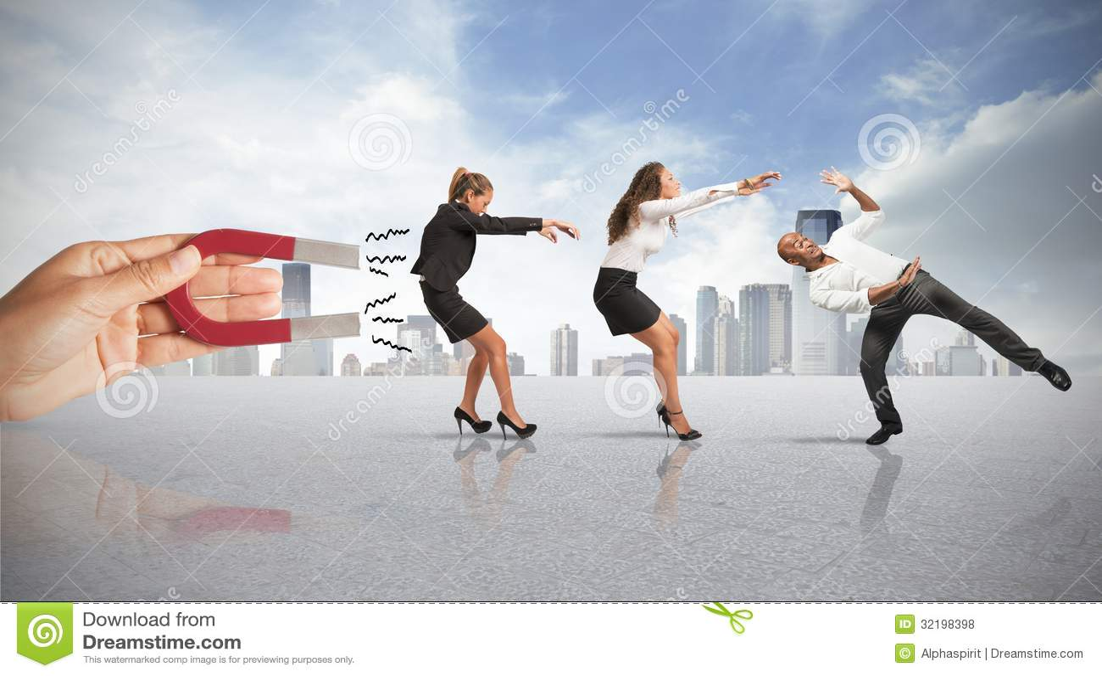 Captura de gente con el márketing