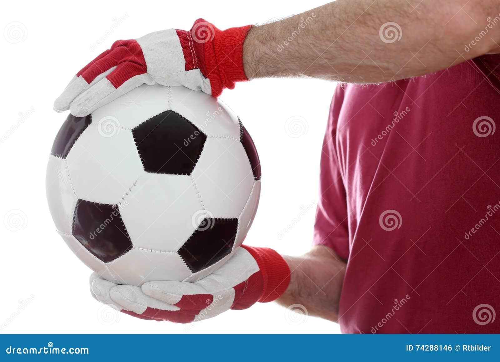 Capture d une boule en cuir