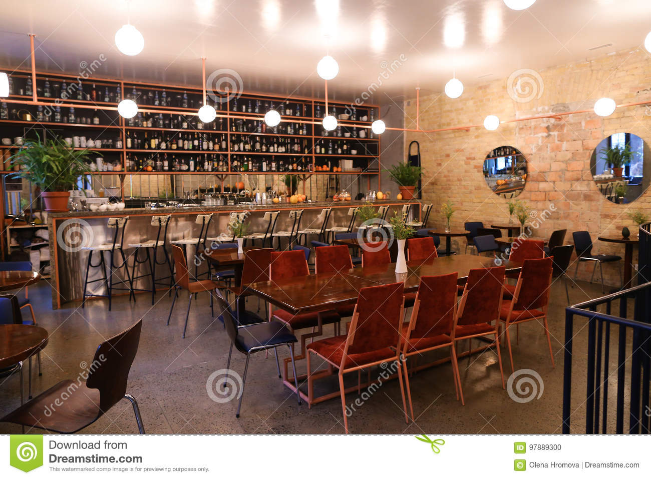 Capture Design Ideas Trendy Cafe Or Restaurant Because Bar Editorial Image Image Of Building Chair 97889300