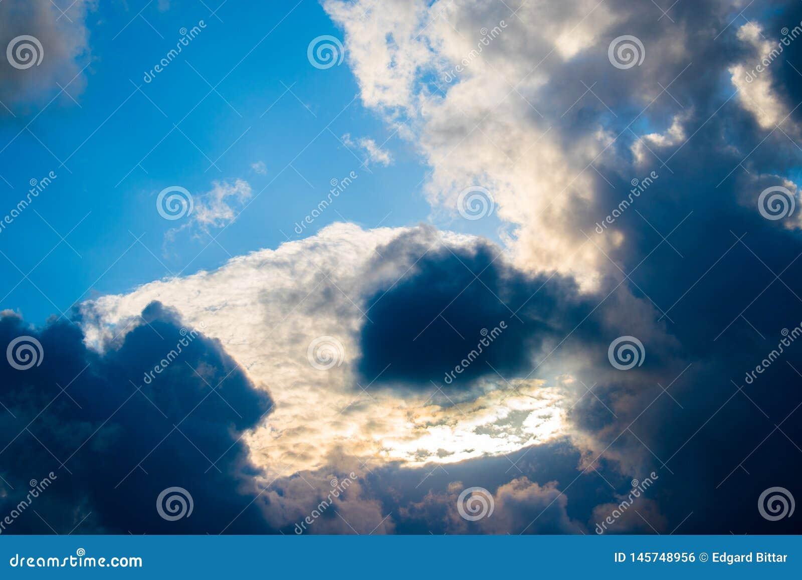 Beautiful clouds in Lebanon 2019
