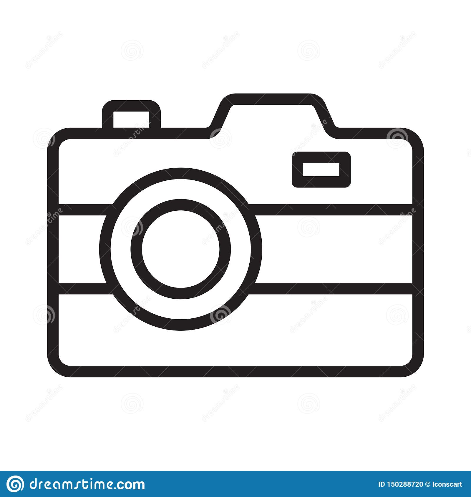 Capture thin line vector icon