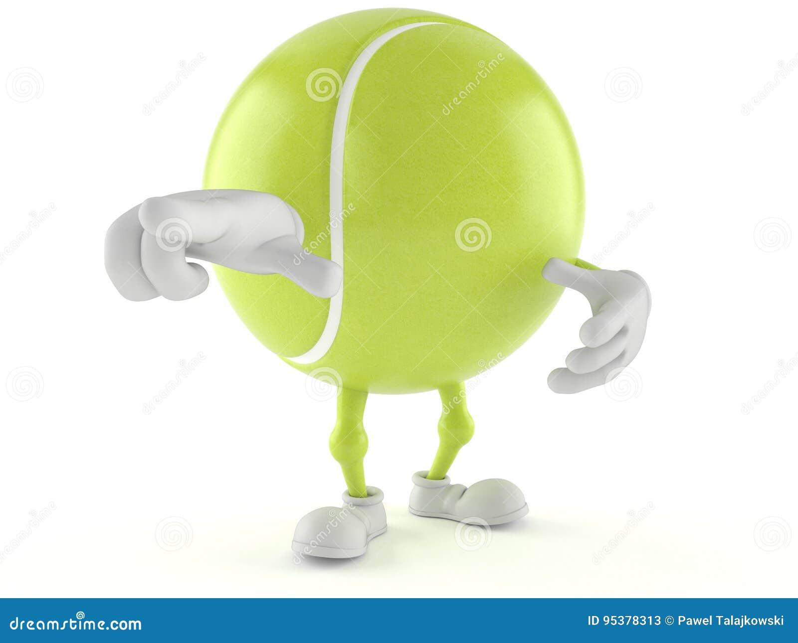 Tenis pelota stock de ilustracion ilustracion libre de stock de - Car Cter De La Pelota De Tenis
