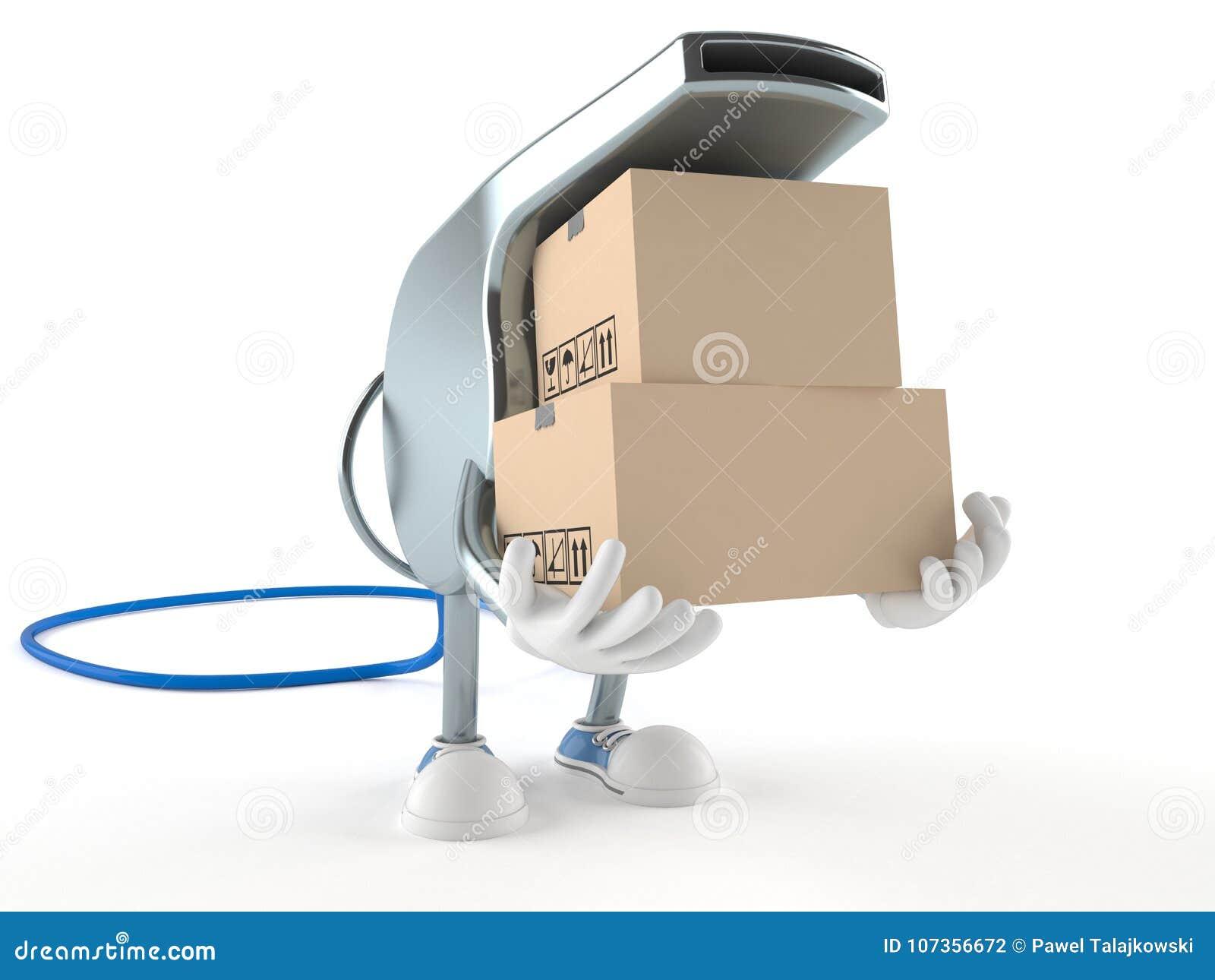 Carácter del silbido con las cajas