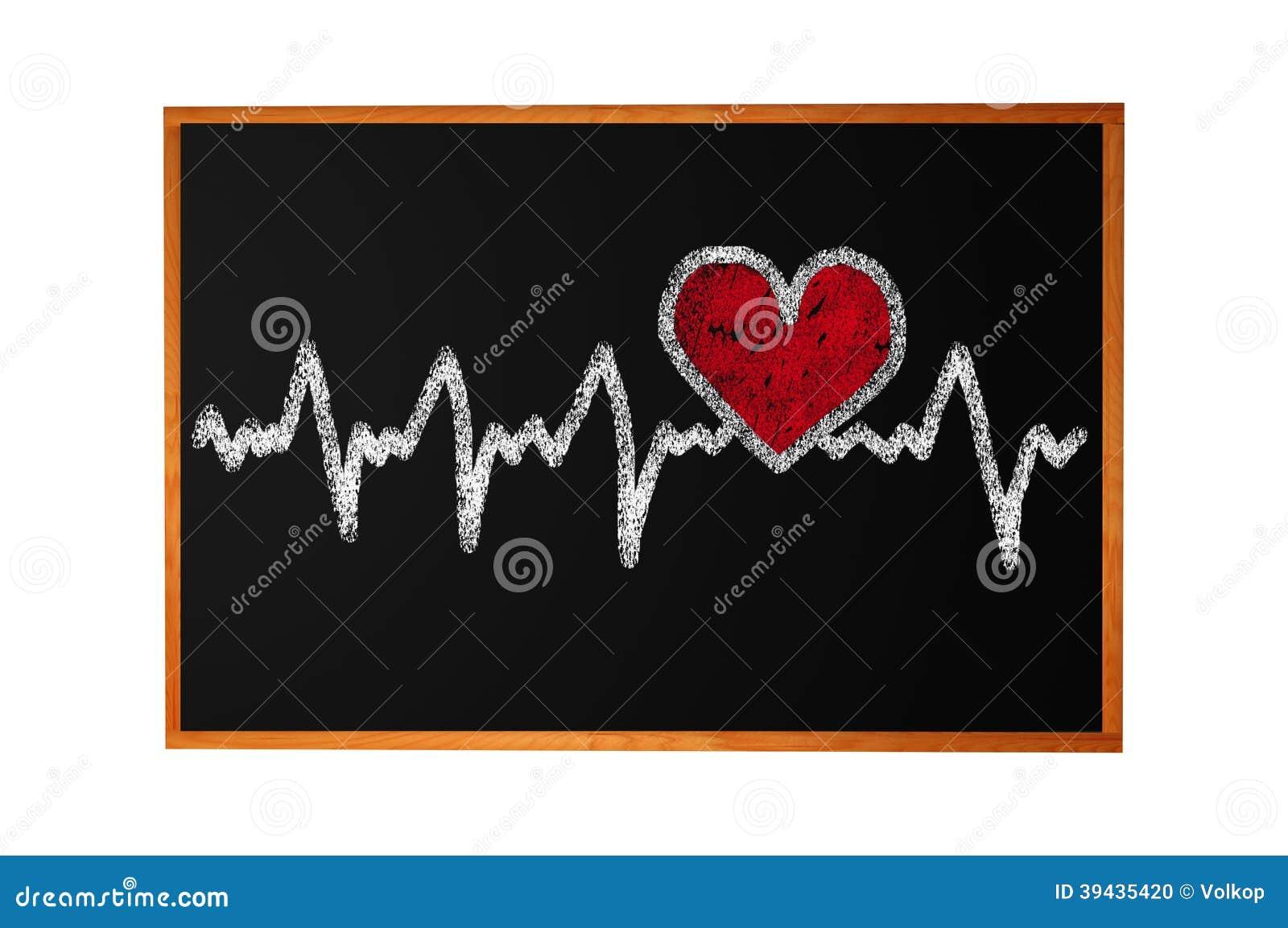 Caráter da pulsação do coração e projeto, coração do amor