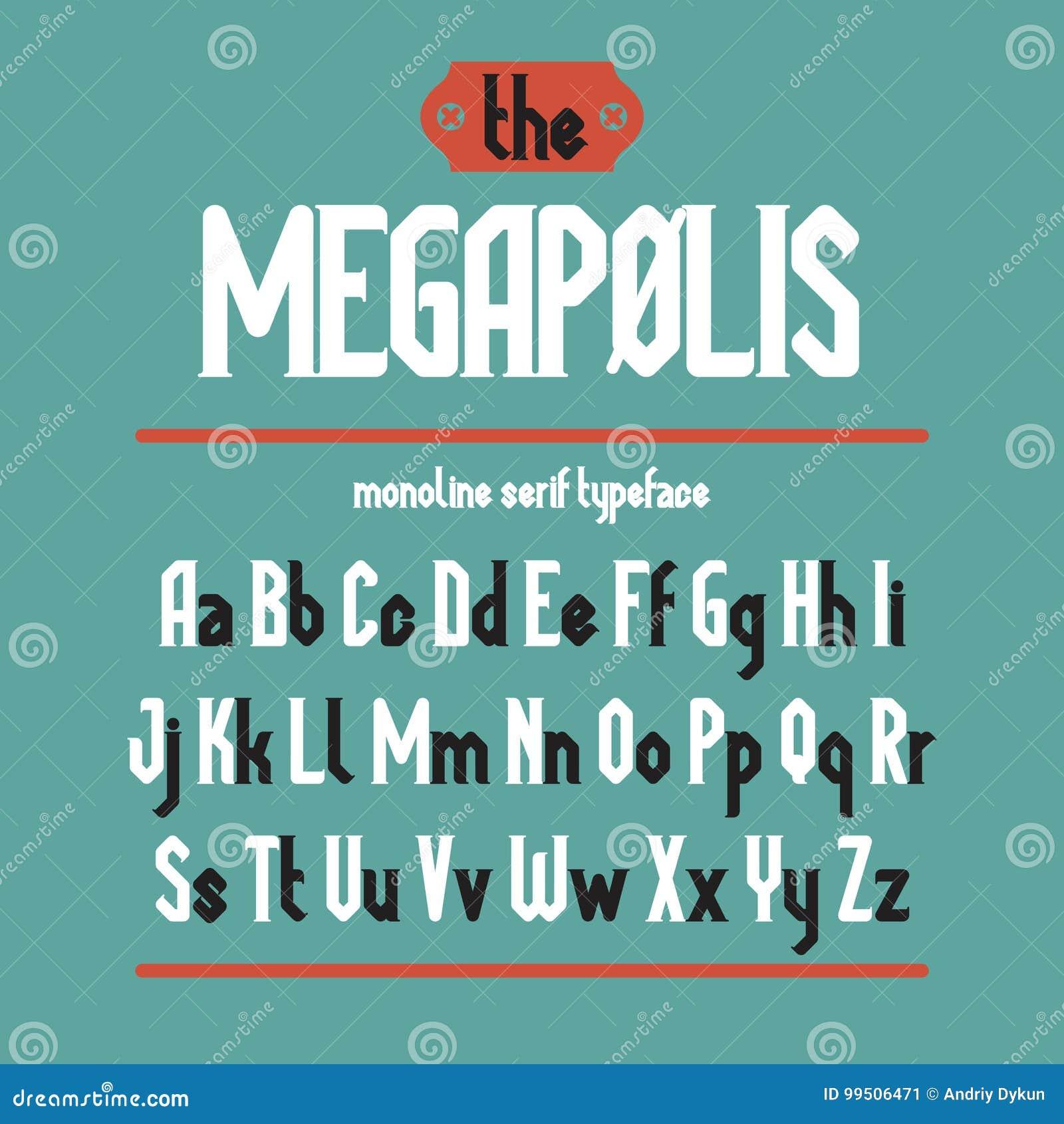 Caráter Tipo Do Preto De Megapolis Ilustração Do Vetor Ilustração