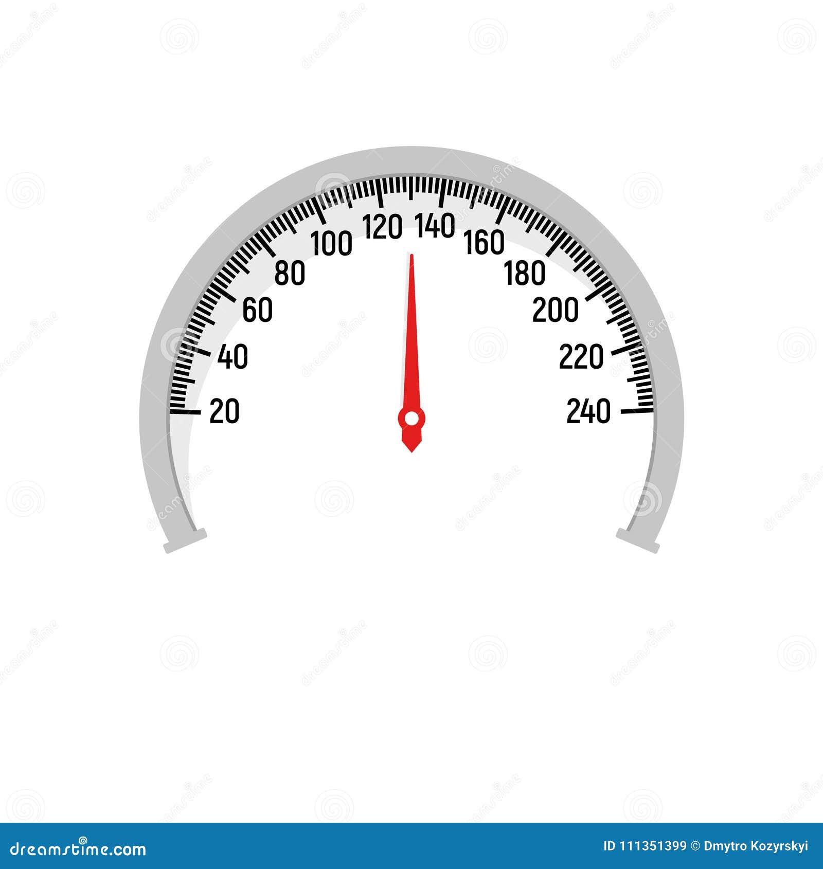 Speedometer  Vector  stock vector  Illustration of download