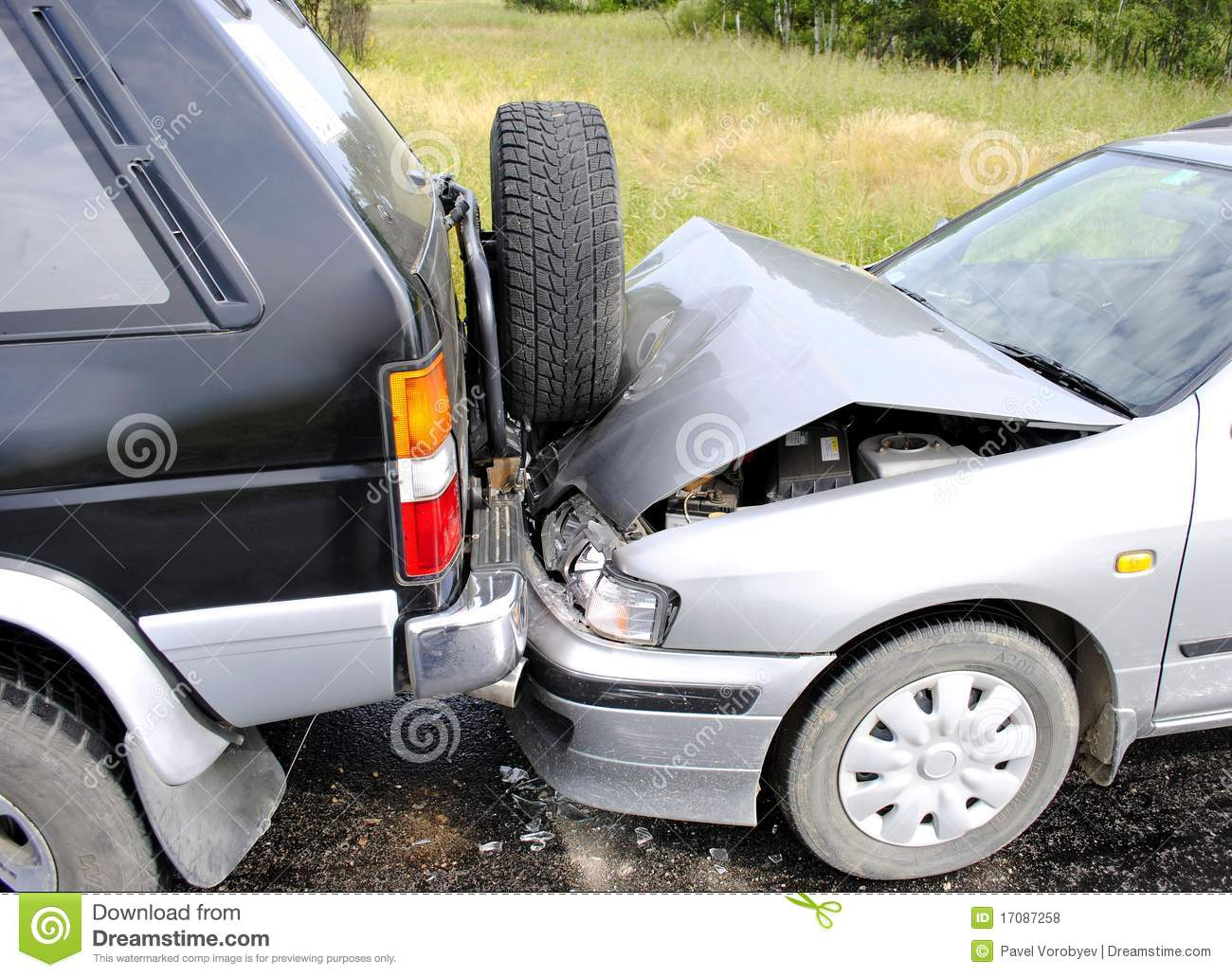 Car accident stock photo. Image of automobile, broken - 17087258