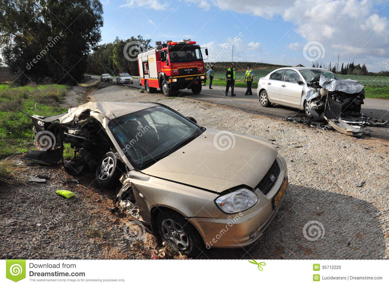 Car Accident Police Today