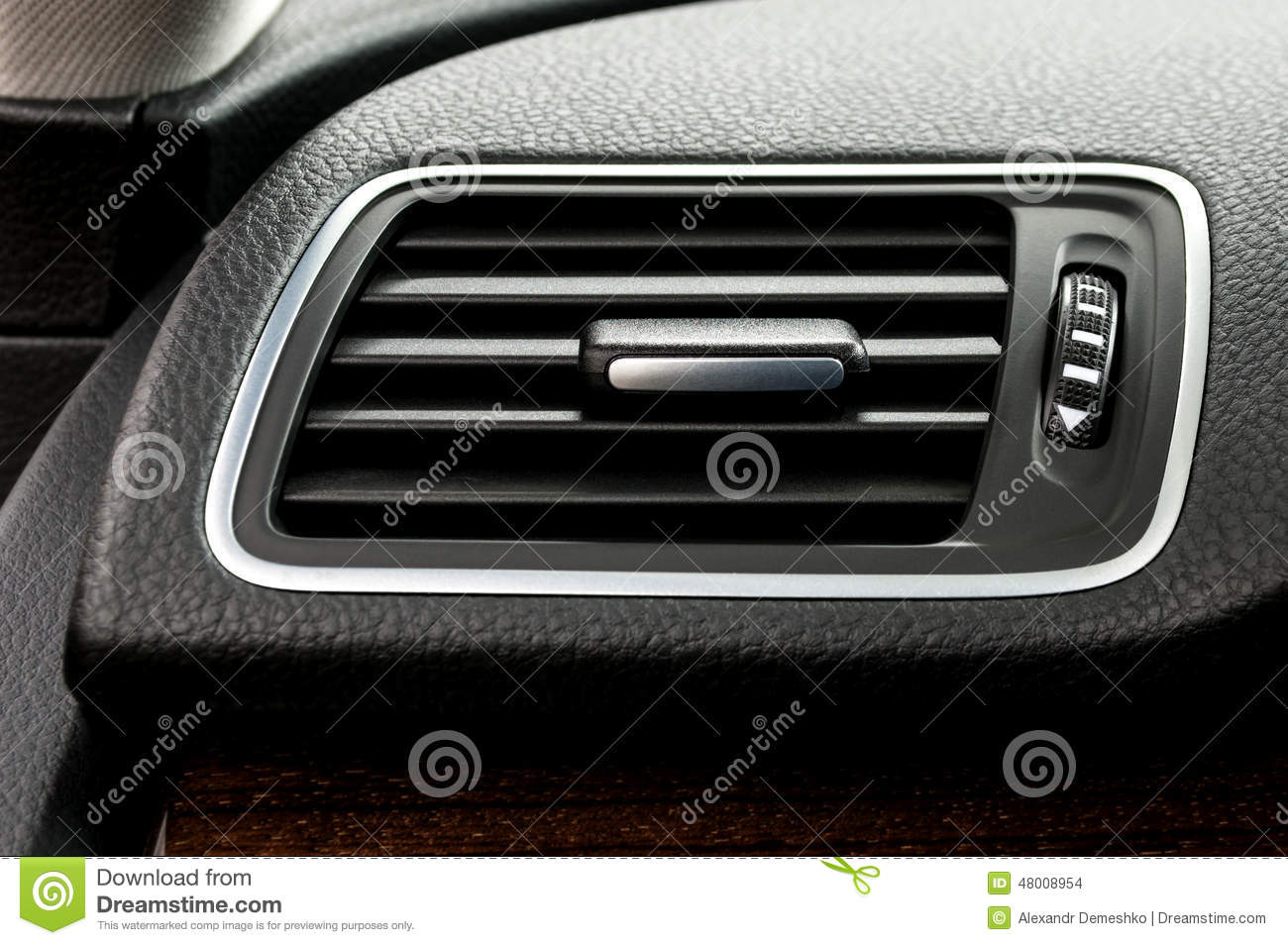 car air conditioning system stock photo image of automobile panel 48008954. Black Bedroom Furniture Sets. Home Design Ideas