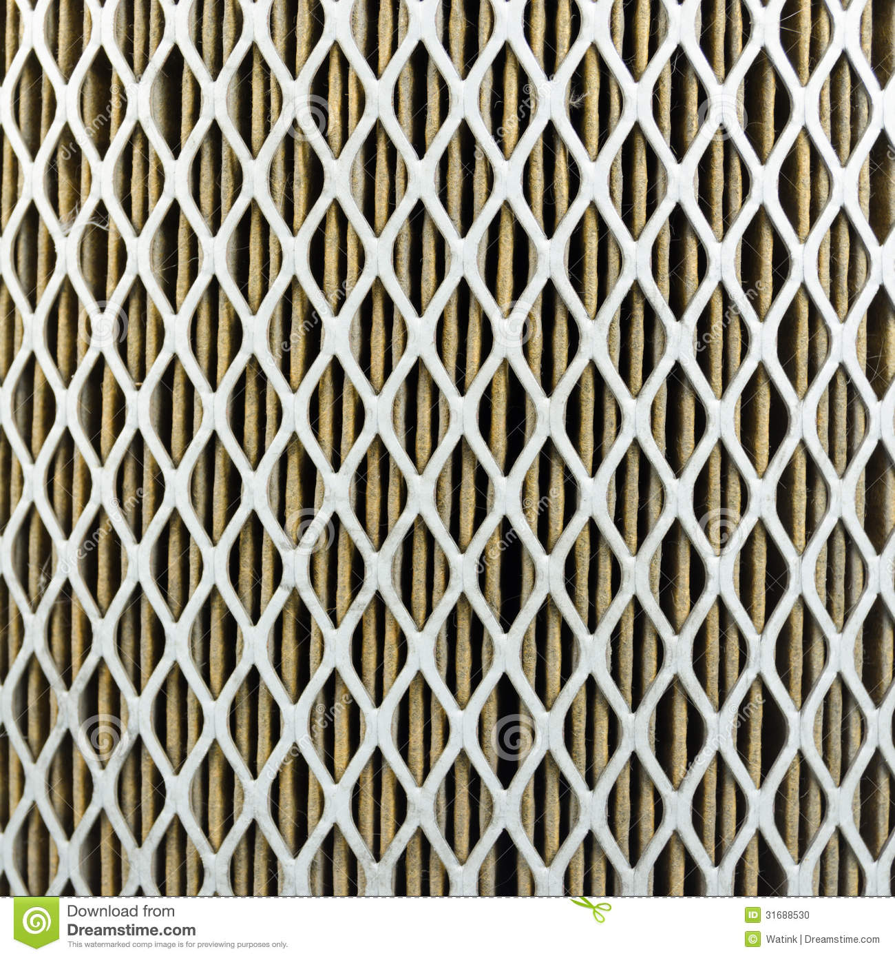 Car Air Filter Close Up Stock Photo Image Of Change