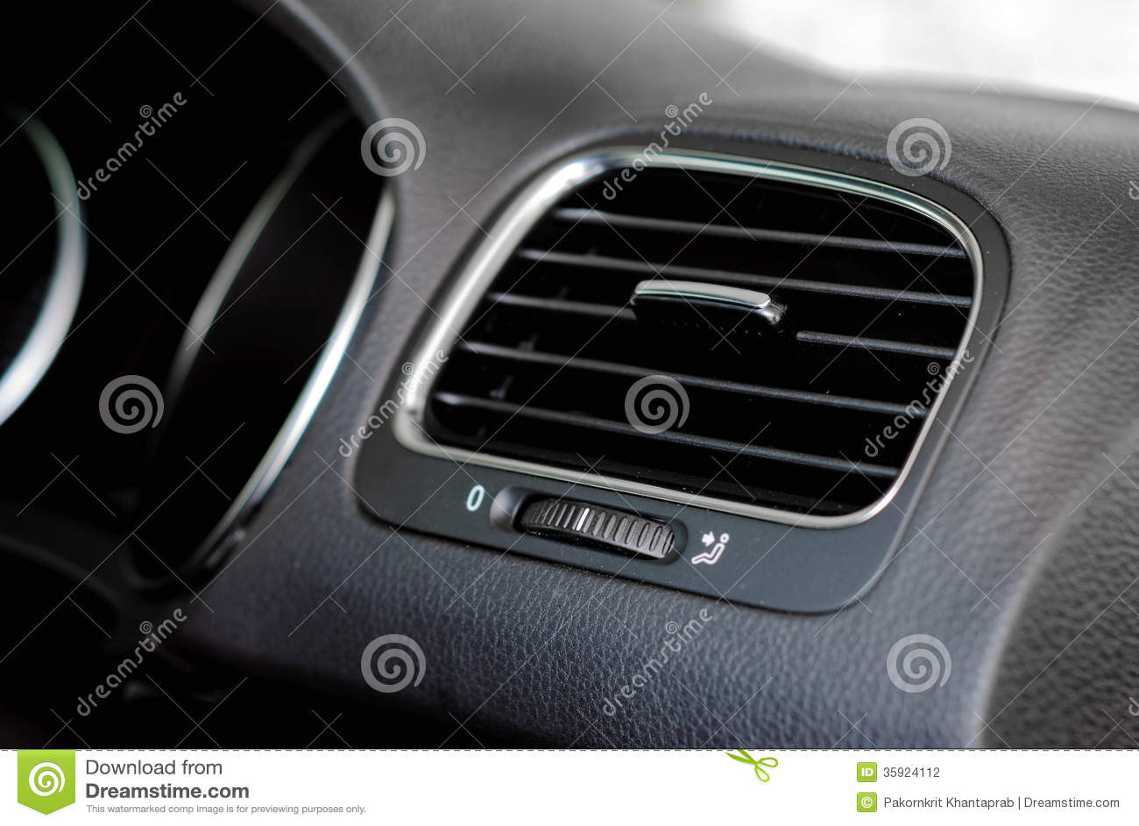 car air vent stock photography image 35924112. Black Bedroom Furniture Sets. Home Design Ideas