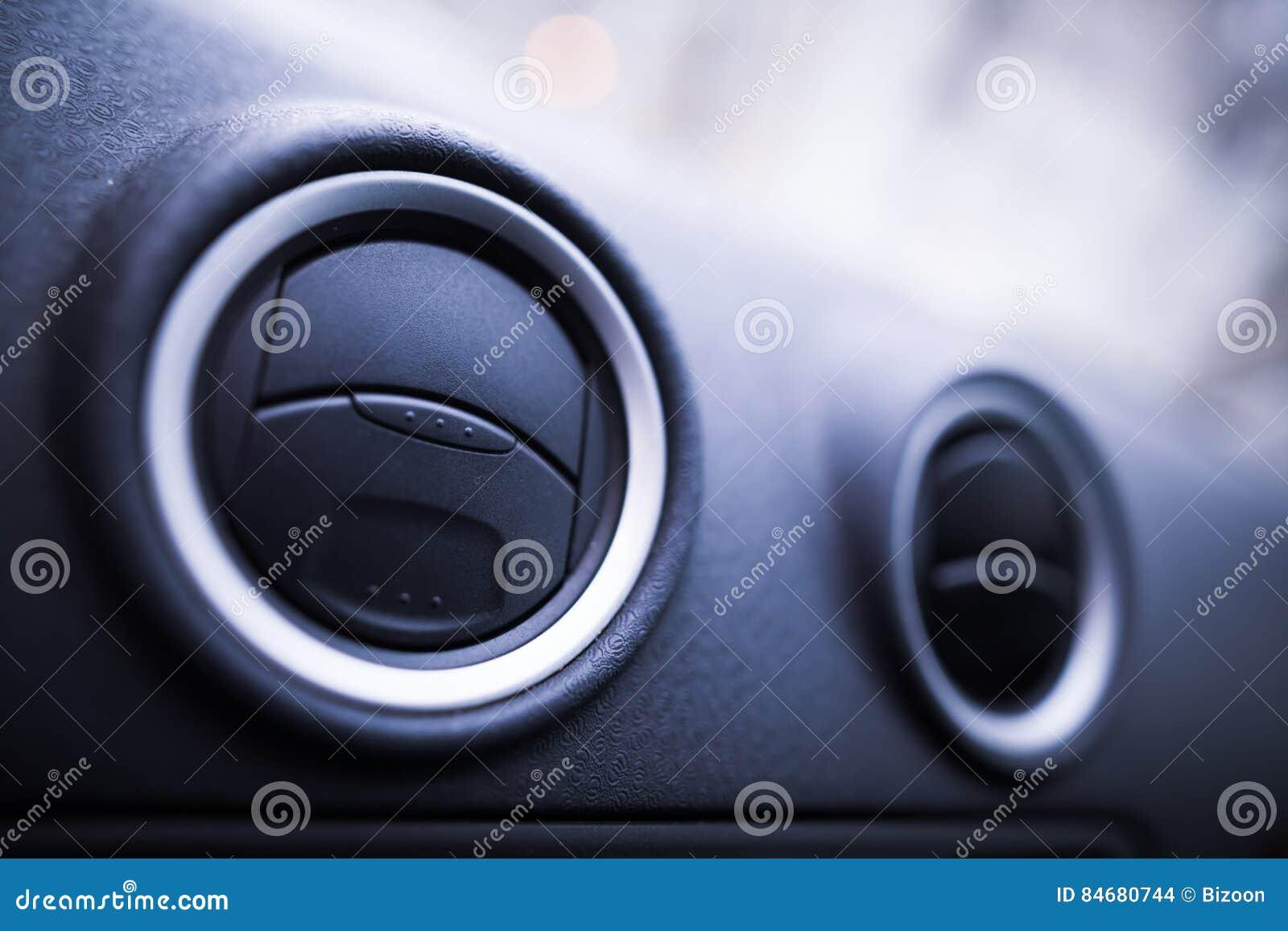 Car air vents detail