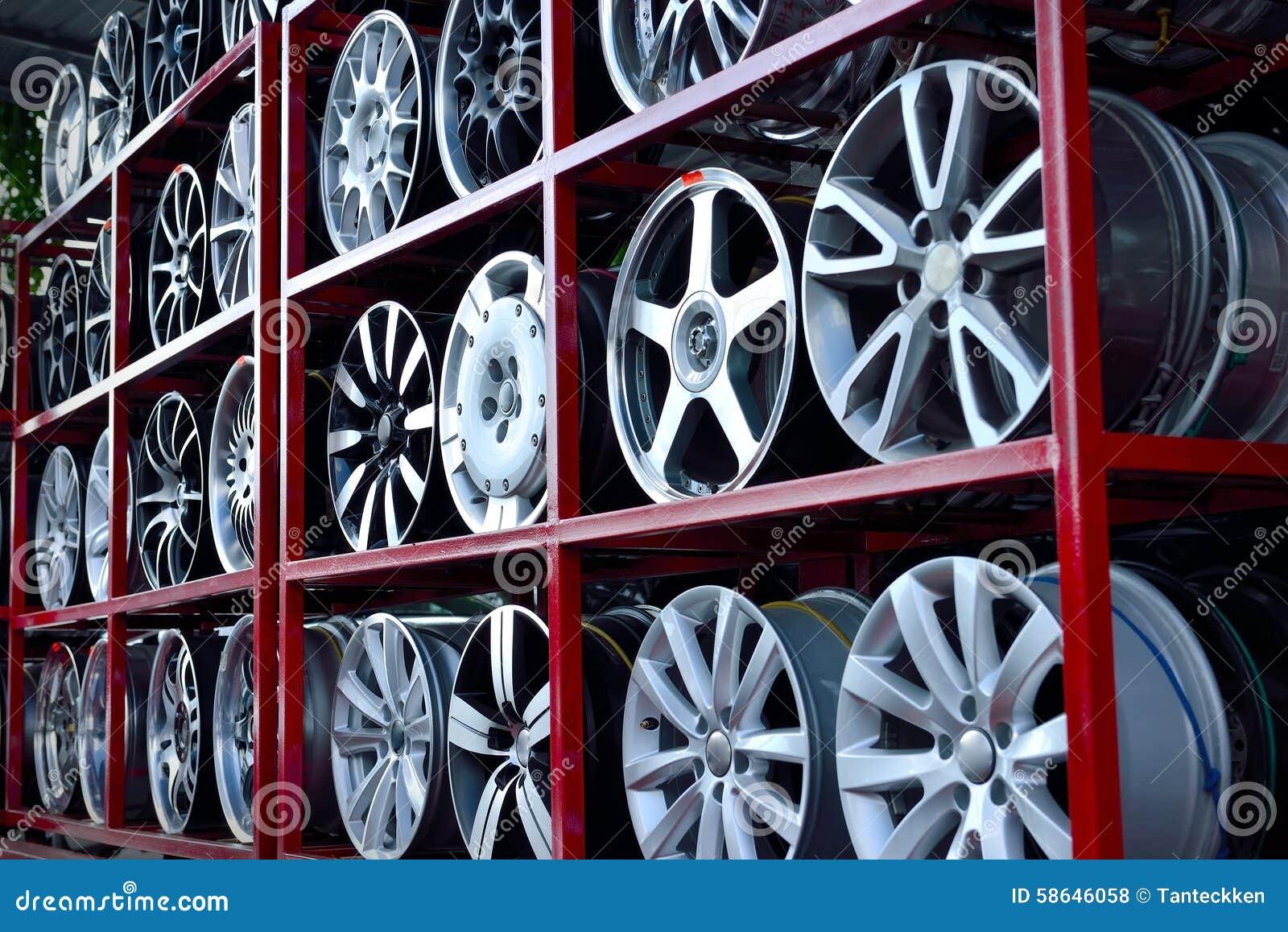 car aluminum wheel rim stock photography 58646066. Black Bedroom Furniture Sets. Home Design Ideas