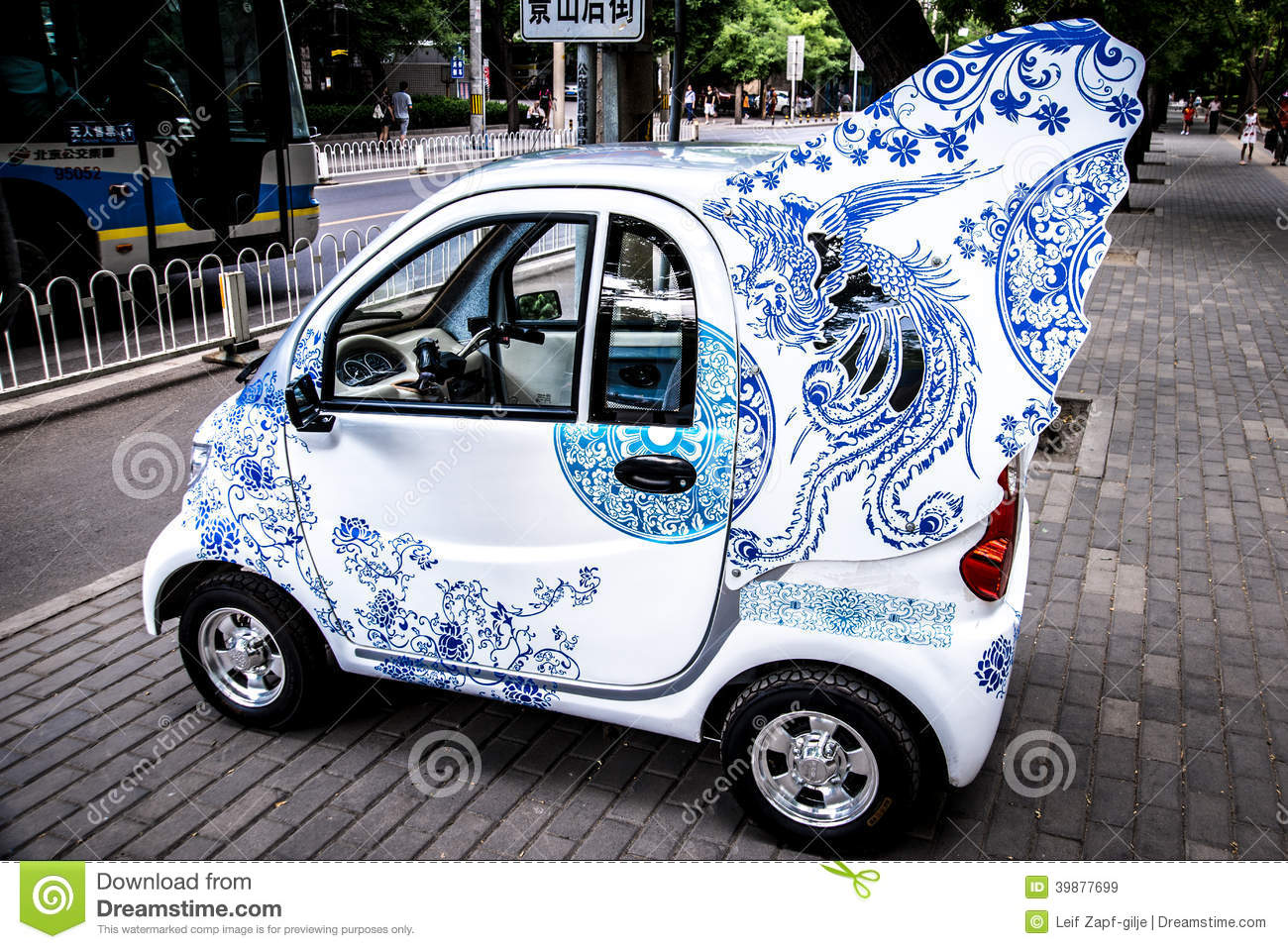 Car With Angel Wings Stock Photo - Image: 39877699