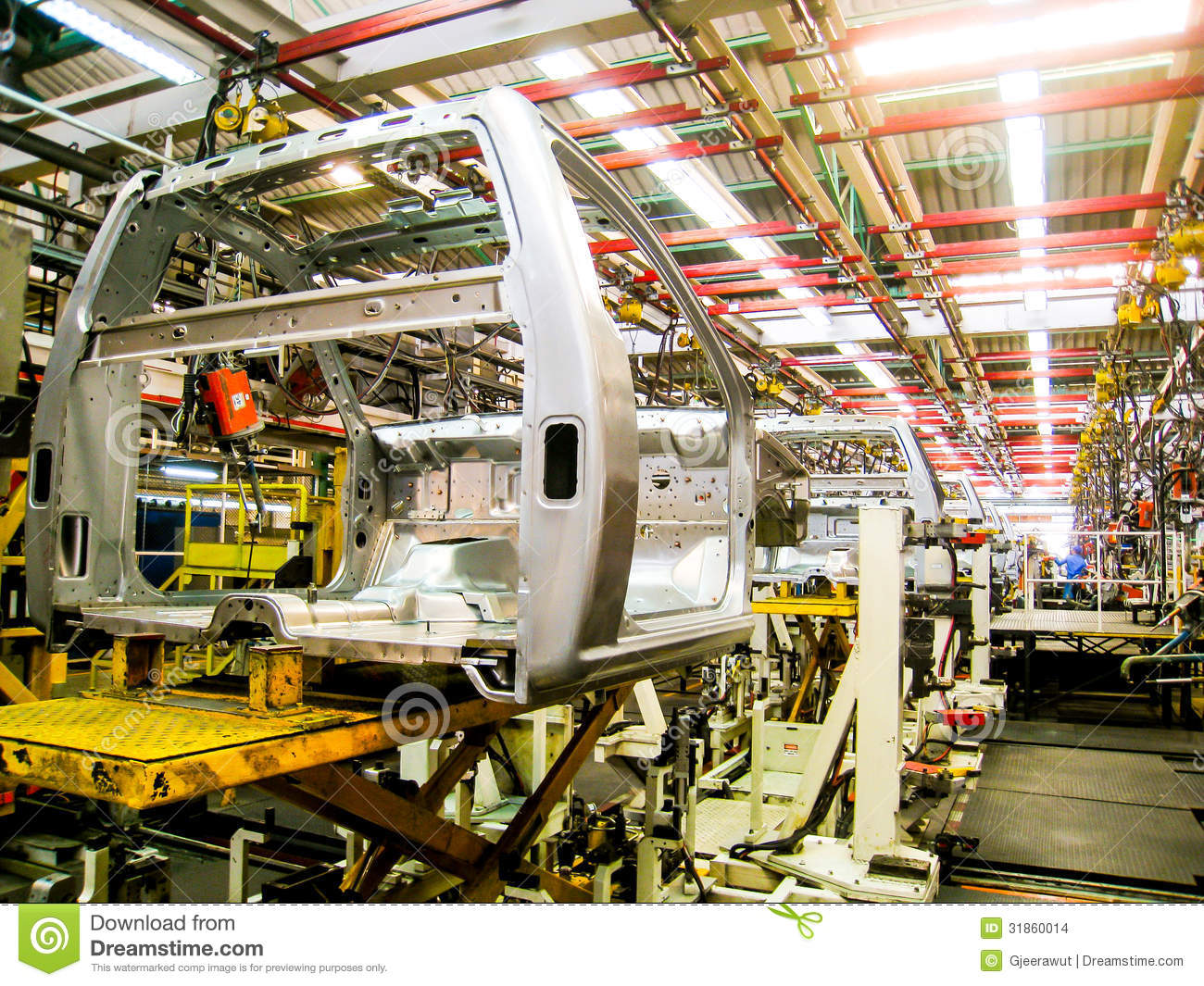 Vehicle Assembly Line : Car assembly line stock images image