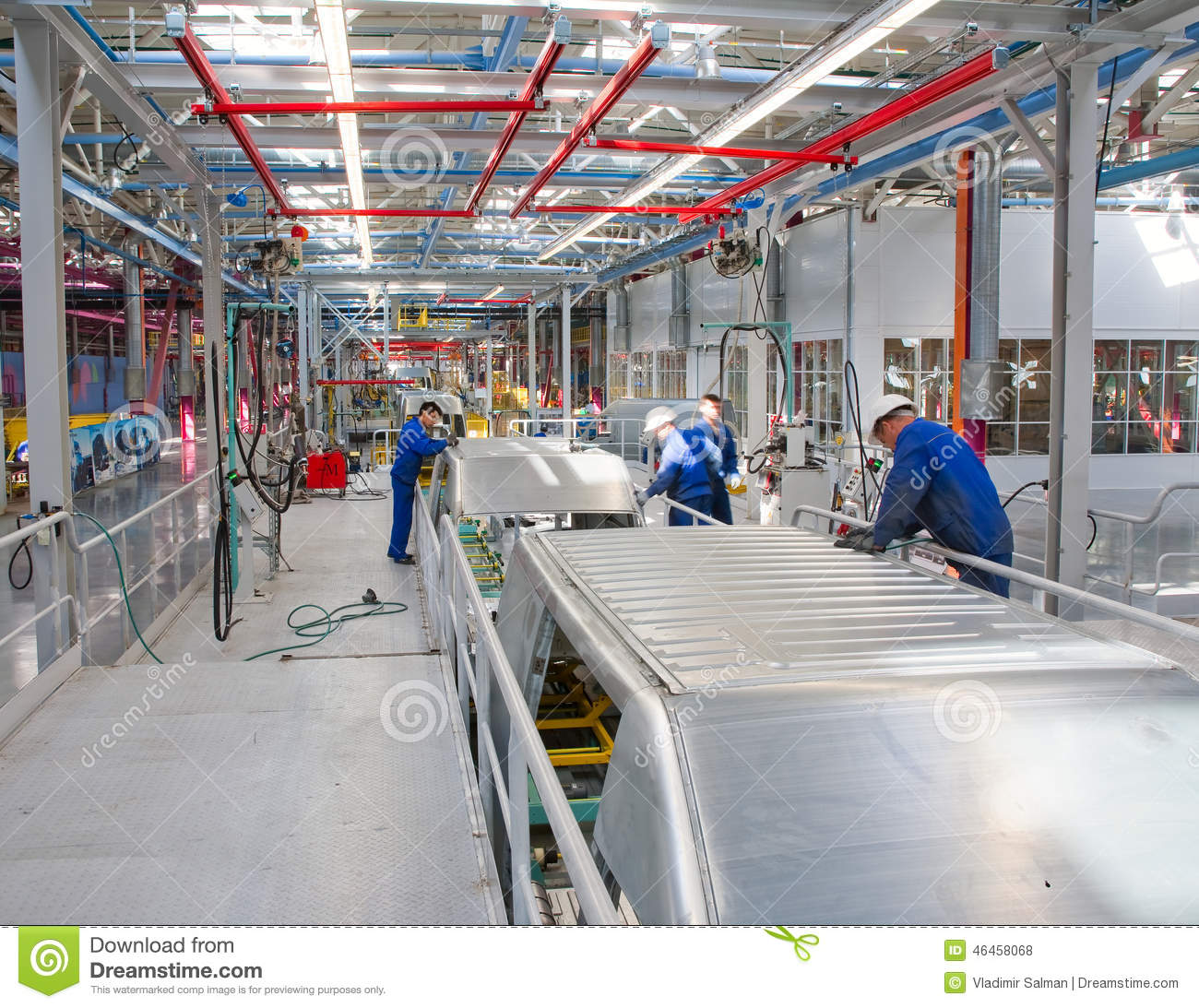 Car Assembly Line Ford Sollers Editorial Stock Photo Image Of Ford