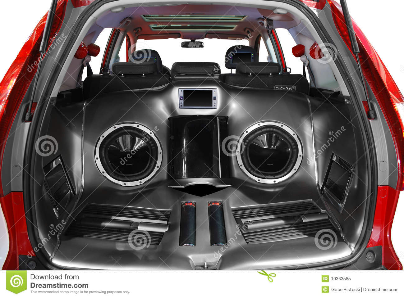 Car Audio System Royalty Free Stock Photo   Image  10363585