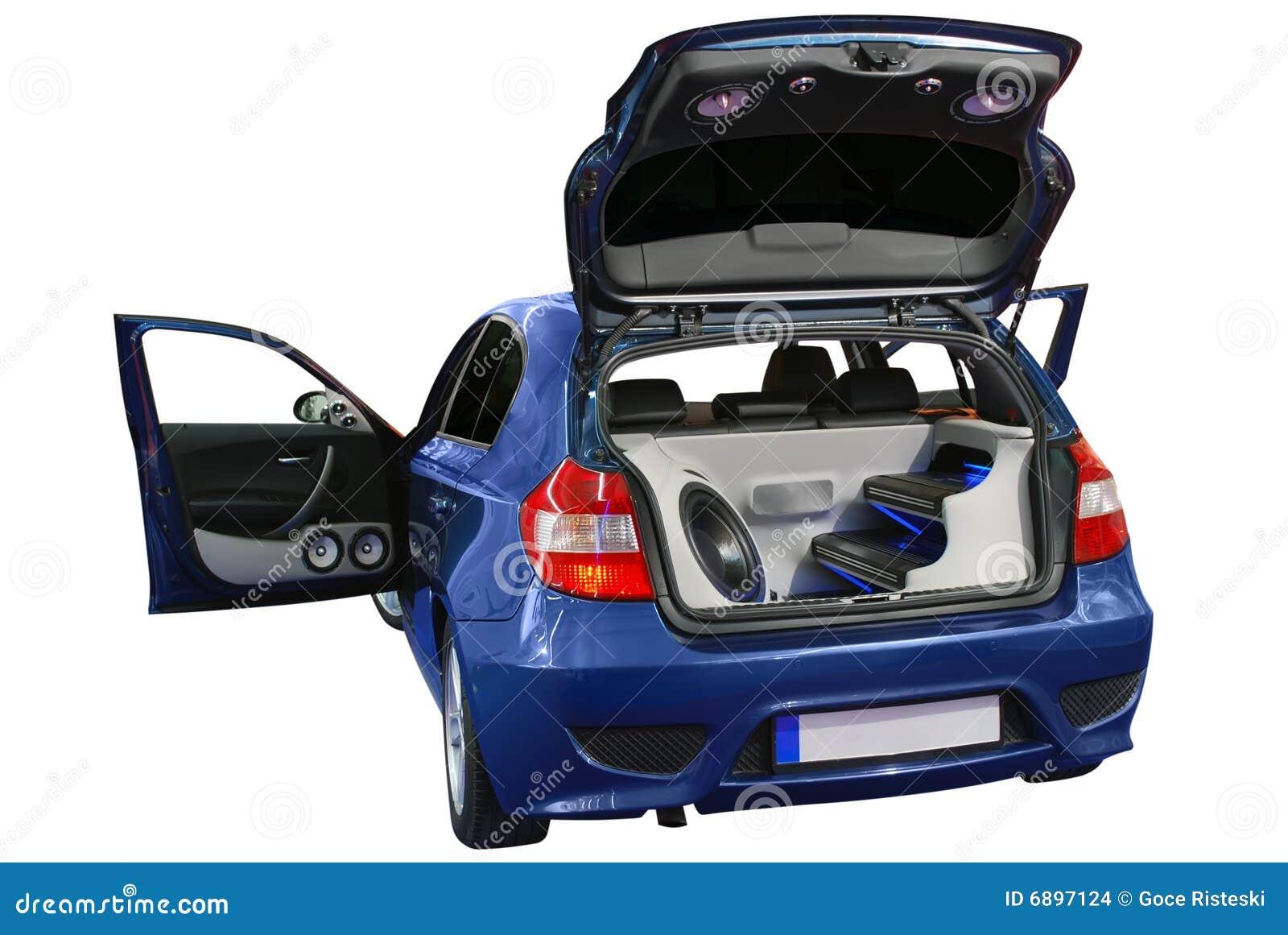 car audio system stock images image 6897124. Black Bedroom Furniture Sets. Home Design Ideas