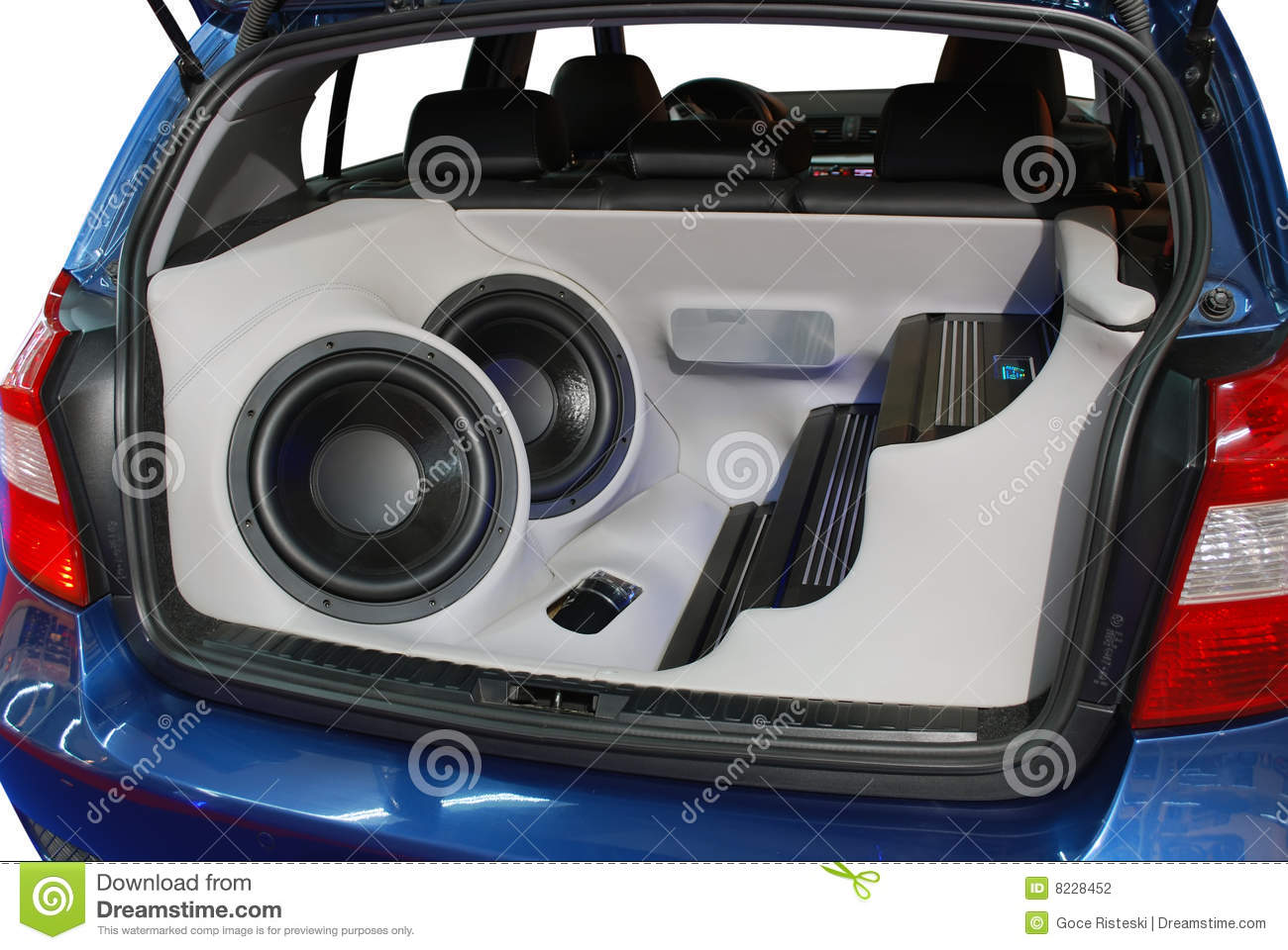 car audio system stock photo image of hardware rhythm. Black Bedroom Furniture Sets. Home Design Ideas