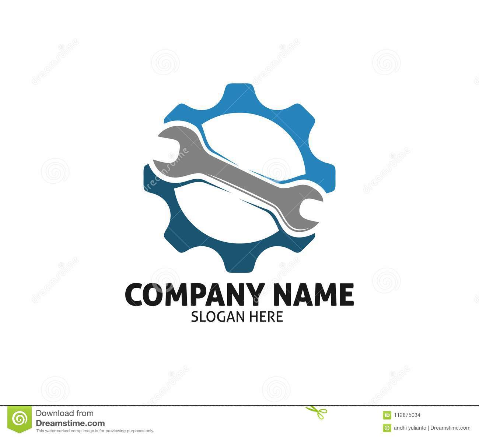 Car Auto Care Dealer Repair Service Vector Logo Design Stock