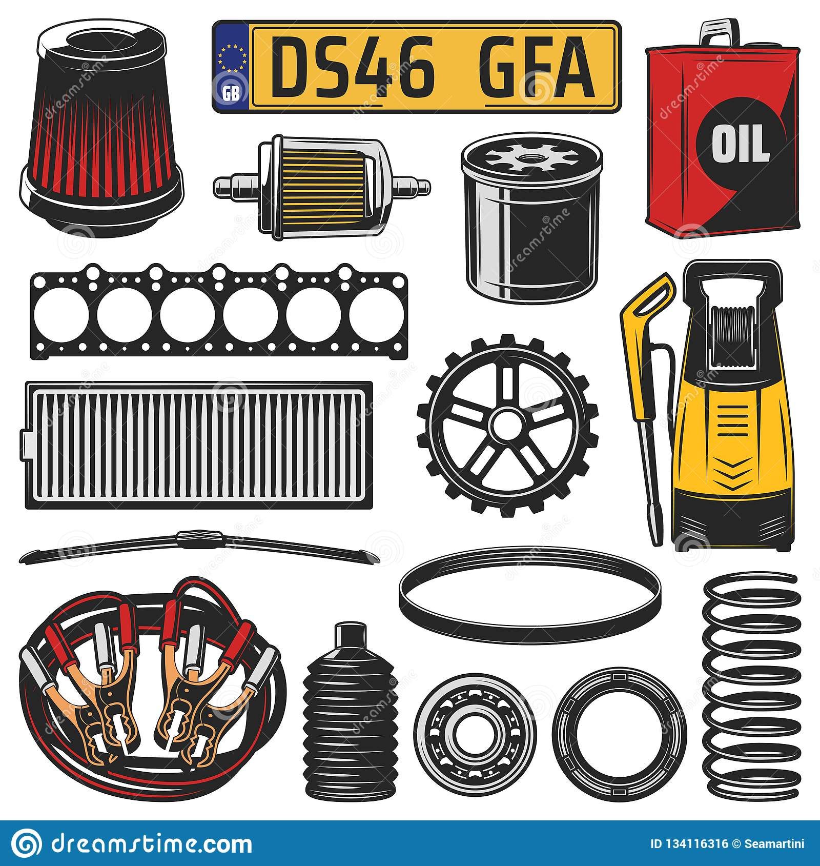 Spare Part Number
