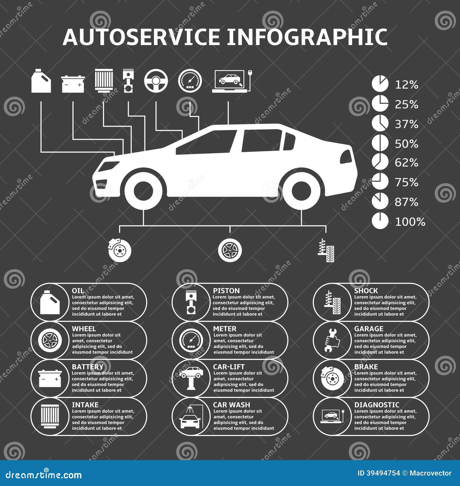 car-auto-service-infographics-design-ele