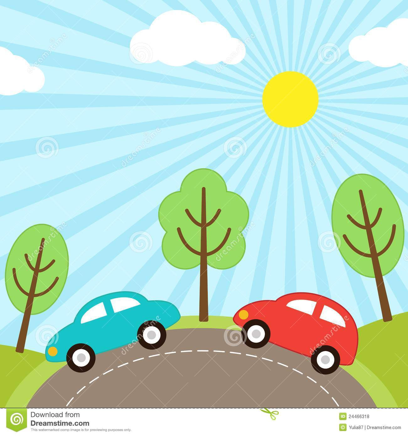 background road clipart 40 - photo #37