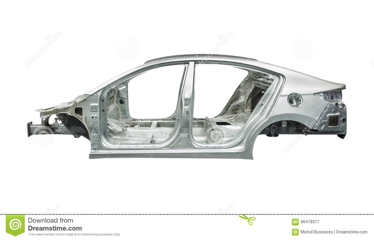 Car body frame stock image image of fast industry body for Motor vehicle body repair