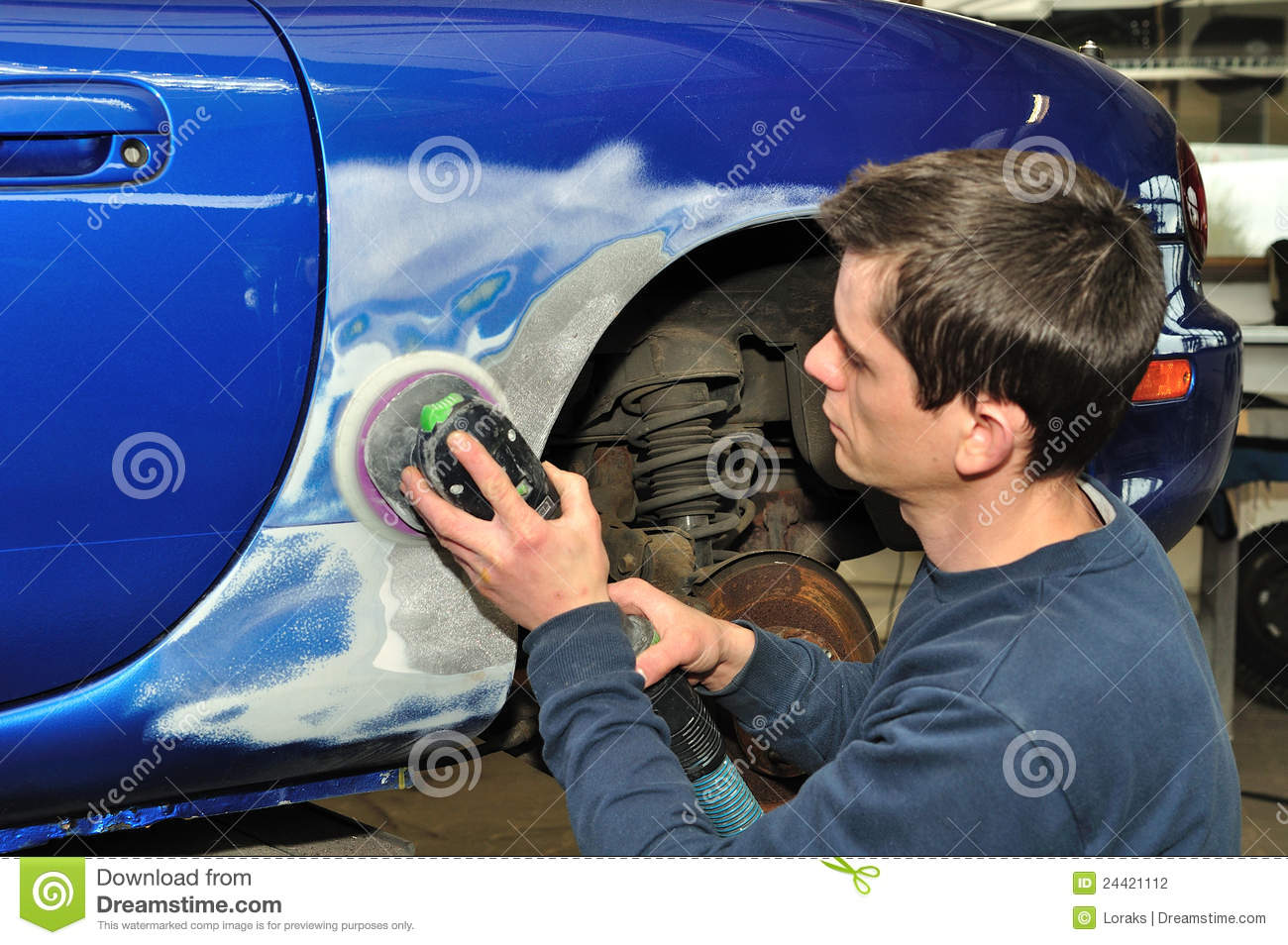 Car Body Work Stock Photography Image 24421112