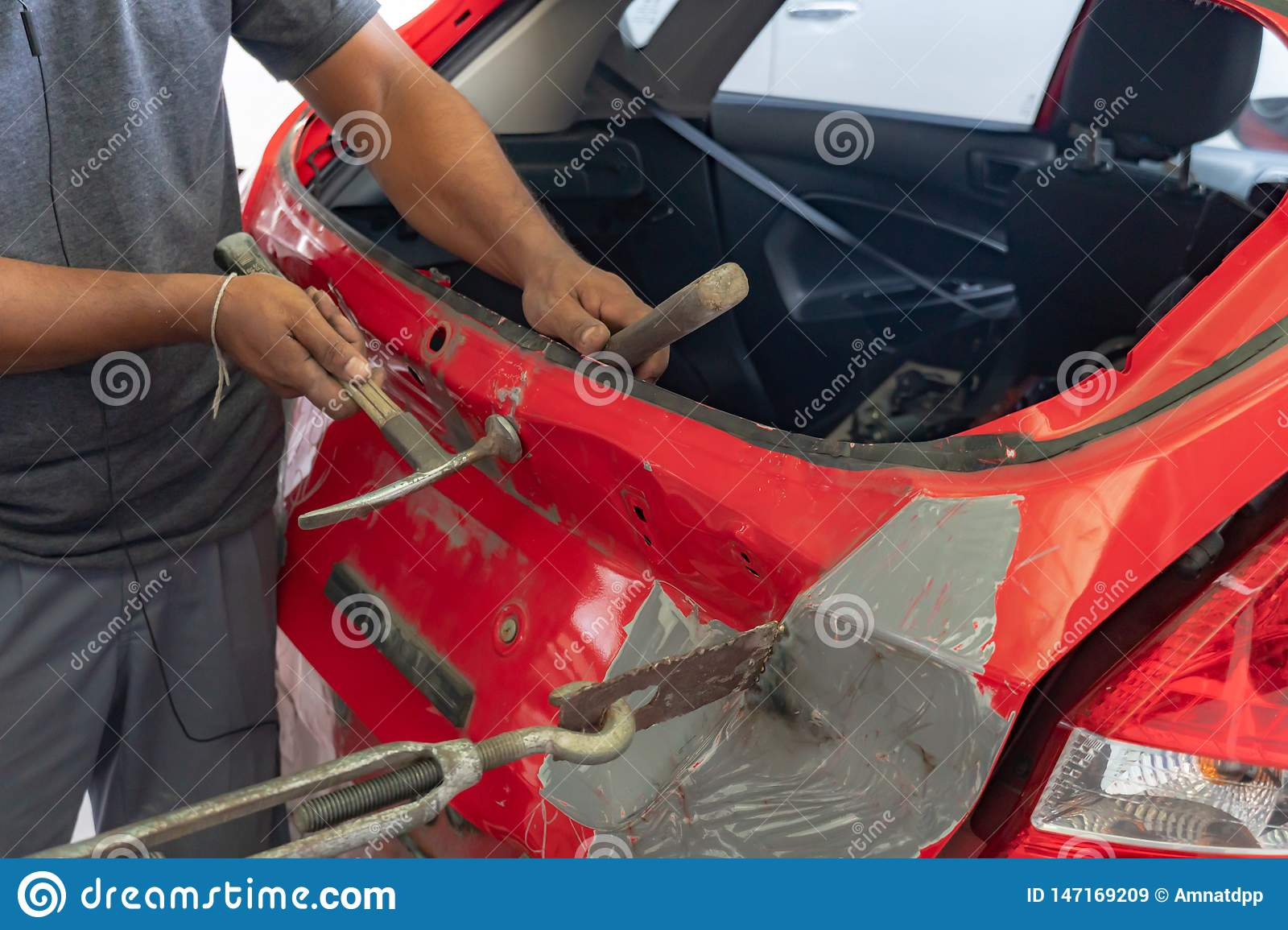 Car Paint Repair Series Photos Free Royalty Free Stock Photos From Dreamstime