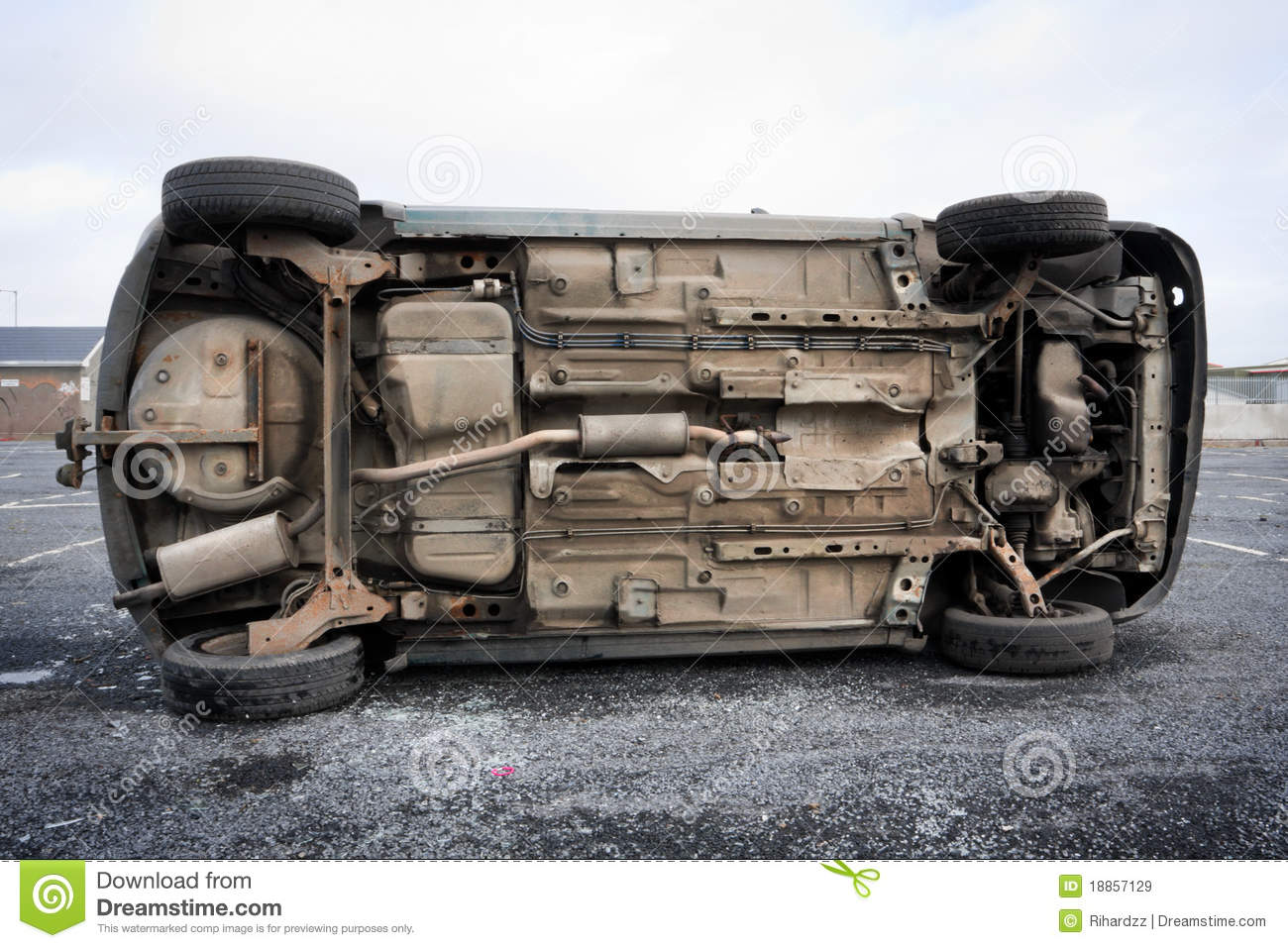 car bottom royalty free stock images