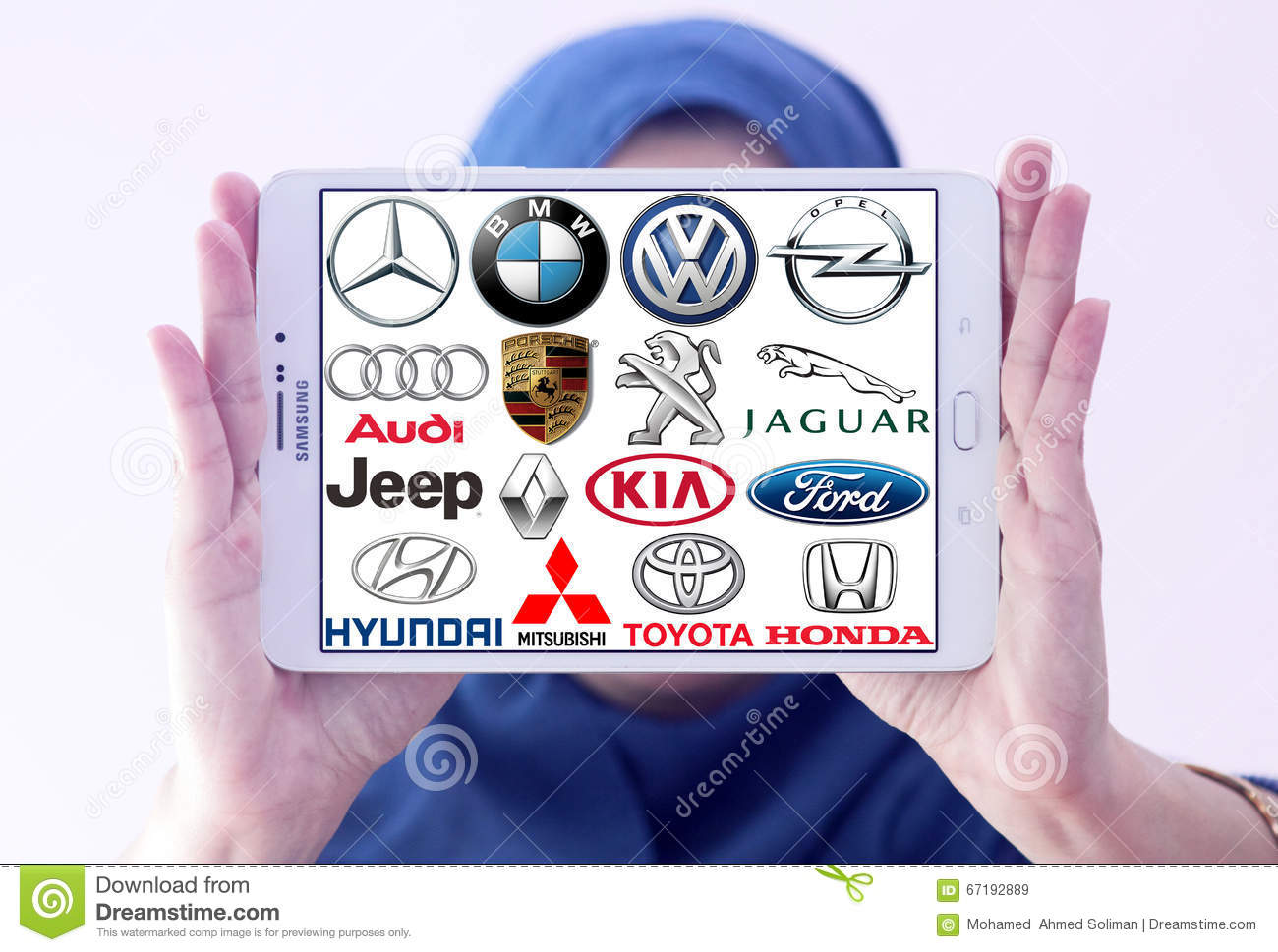 Car Brands And Logos Editorial Stock Image - Image: 67192889