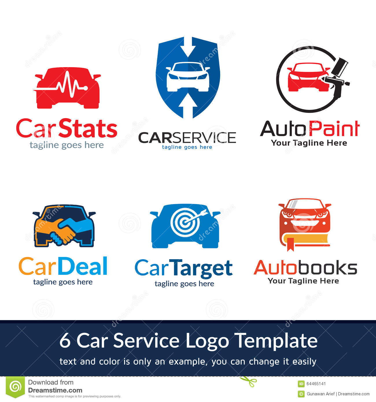 ... for logo, icon, car service, car trade, shop or any other business