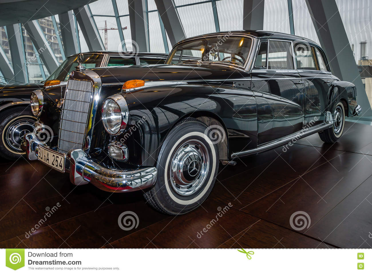 Car of chancellor konrad adenauer mercedes benz type 300d for Mercedes benz gas type