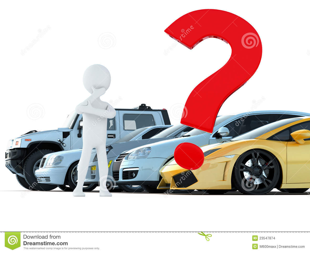 Car Choice Stock Images Image 23547874