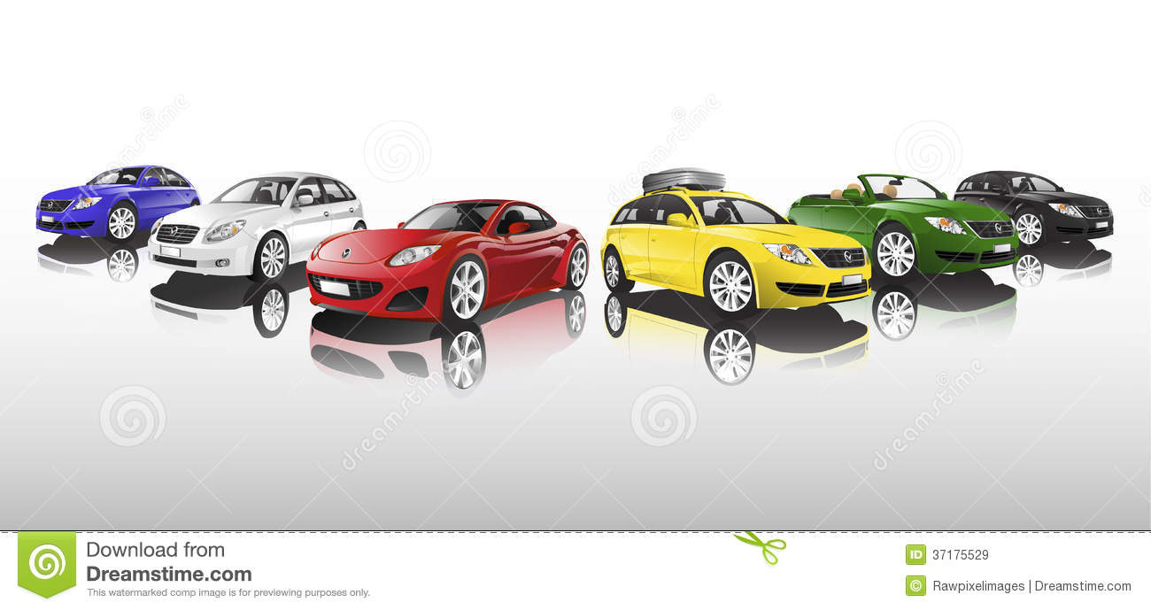 Car Collection Vector
